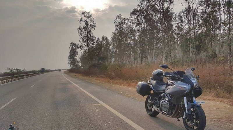 Maharashtra Ride on Benell 600GTS