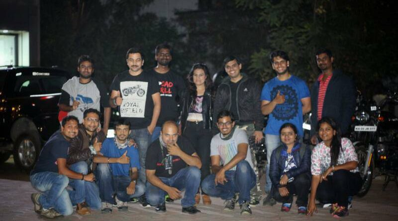 Nightlife in Bangalore with my Riding Group Road Thrill