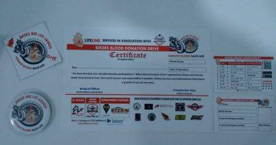 Bangalore Riding Clubs Blood donation drive lifeline app