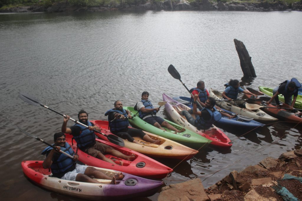 River Rafting at Dandeli near the Resort