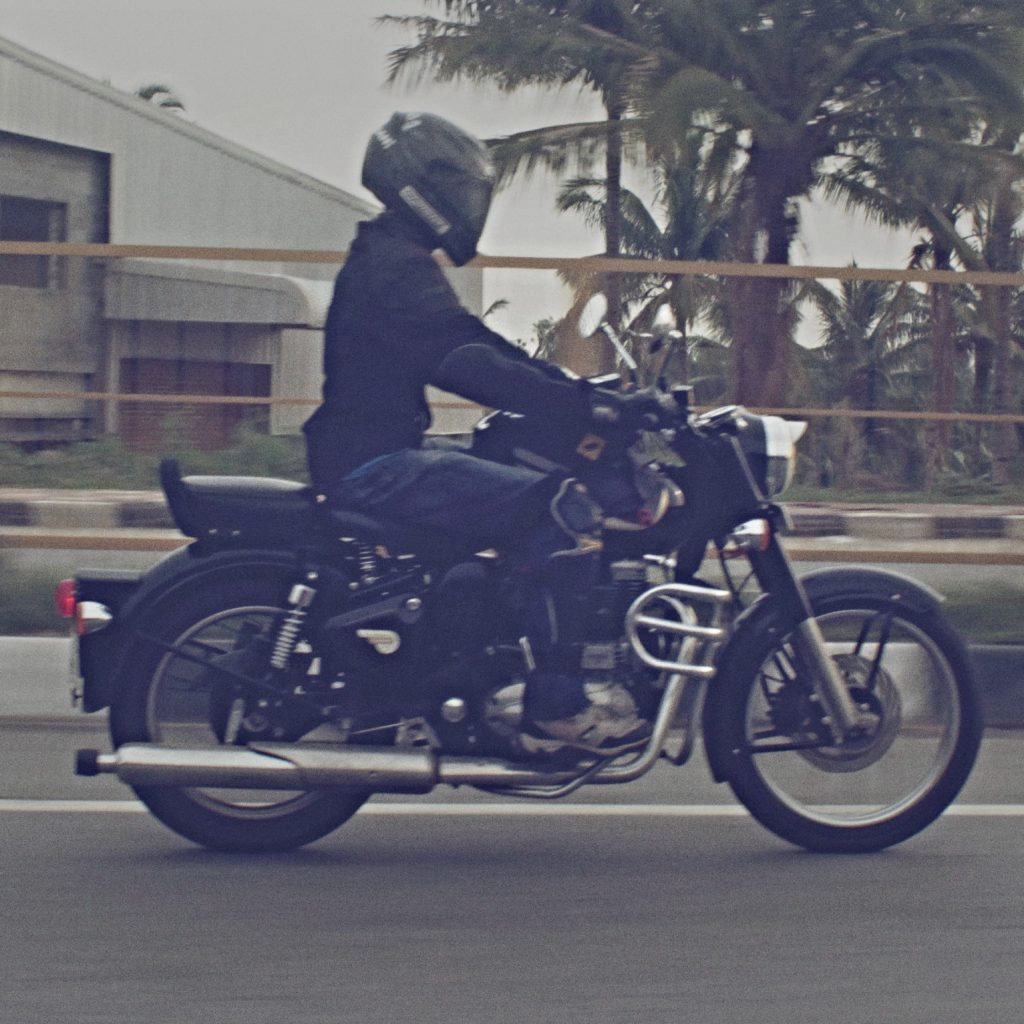 Me and my Royal Enfield Bullet :) Classic 350 Black