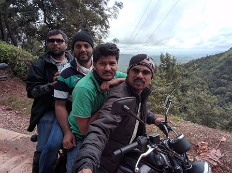 Mullayangiri Bike Ride