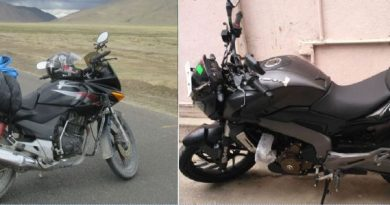 My Dominar Bike and Hero honda Karizma