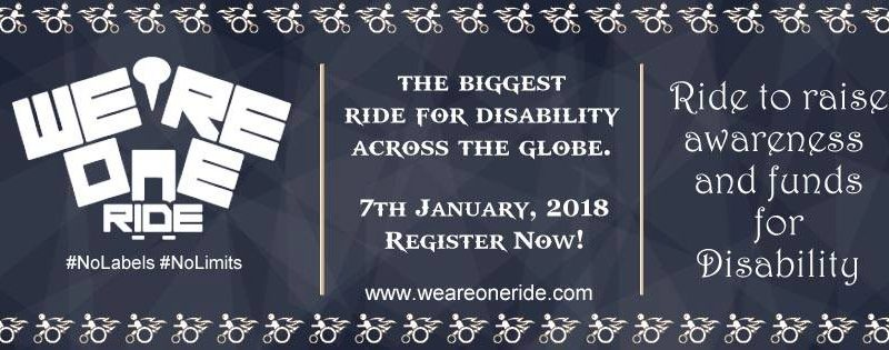 We Are One Ride 2018 India Cause Rides