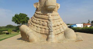Monolith Nandi, The Biggest in India