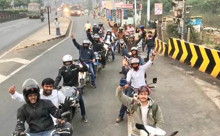republic day ride vizag beach road bikers groups road thrill vizag
