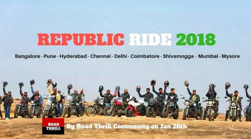 Republic Day Rides in India 2018