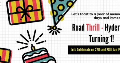Road Thrill Hyderabad Bikers Motorcycle and Travel Club First Anniversary at Hidden Castle Resort
