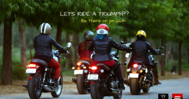 RT Women Riders Jan 26th 2018 Ride in Delhi by Sonia Jain and Triumph Motorcycles India