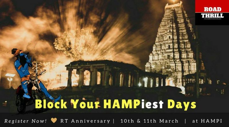 Road Thrill Anniversary Ride Hampi Place