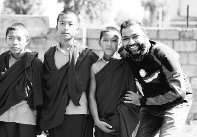 Kid Monks at Dzogchen Monastery