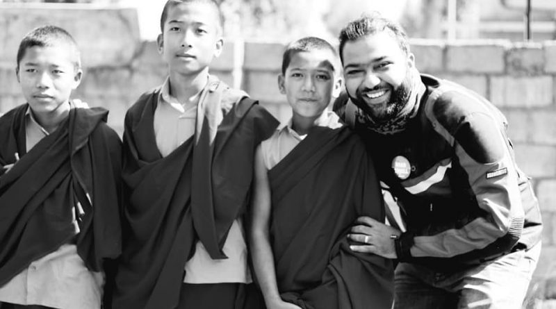 Kid Monks at Dzogchen Monastery