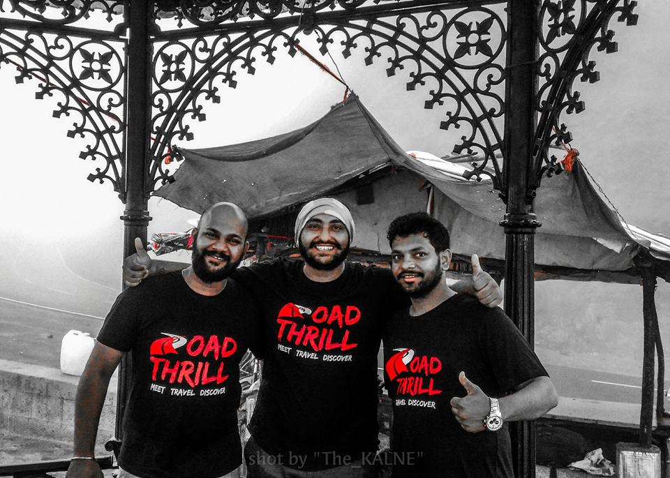 Road Thrill Pune Team - Ashutosh Morrison Vikranth Chaudari Dotor Nikhil Yadav