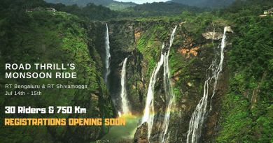 Monsoon Ride Jog Falls Bangalore and Shivamogga