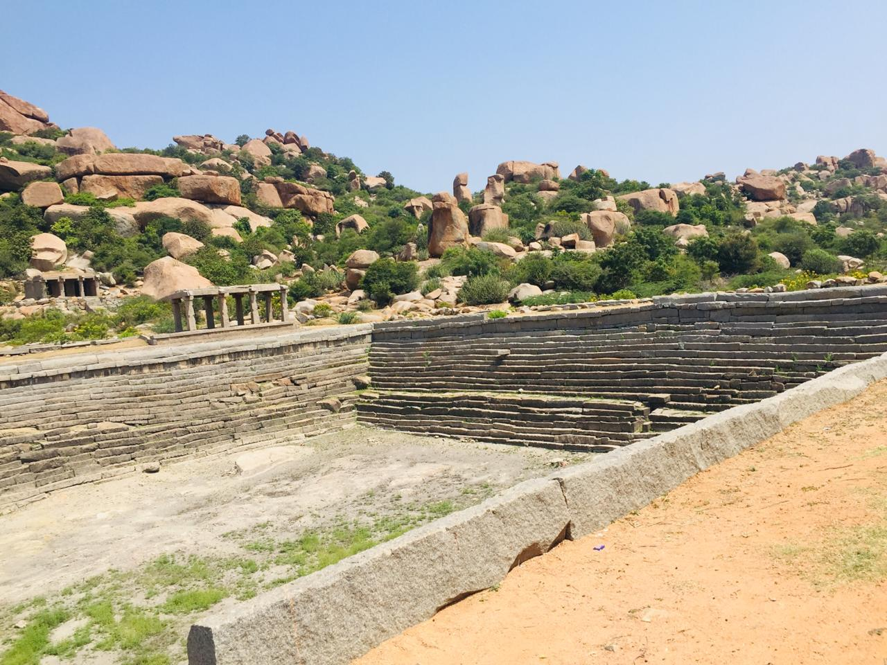 Hampi India Ruins River Lotus Mahal