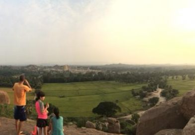 Hampi India Sunset Point Songs Jam Session
