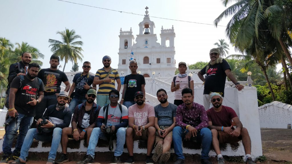 Goa Churches Ride Royal Enfield 2018 Road Thrill Clubs RT Pune