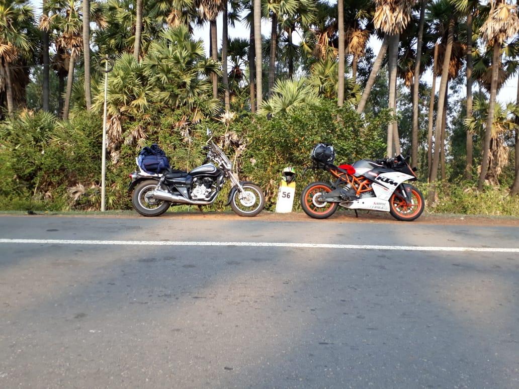 Gypsies Odyssey KTM and Avenger South India Tour