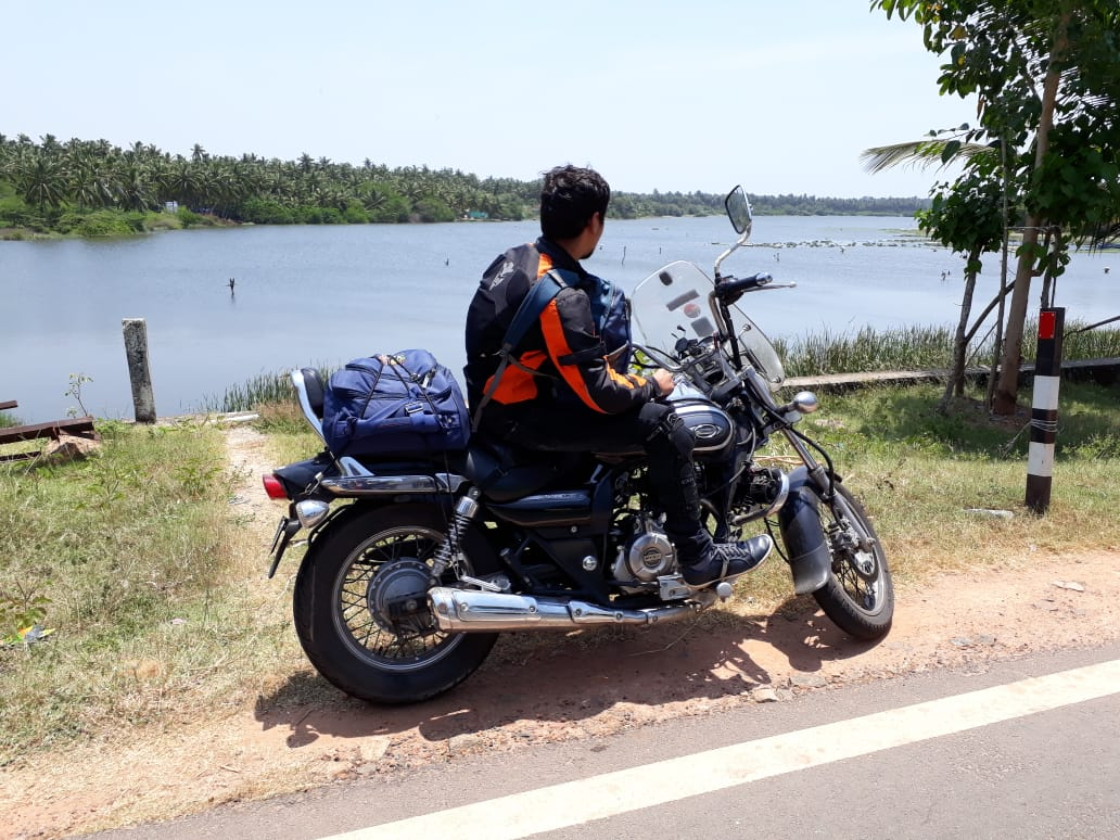 naveen nembhwani from road thrill vizag biker Vizag United Bikers