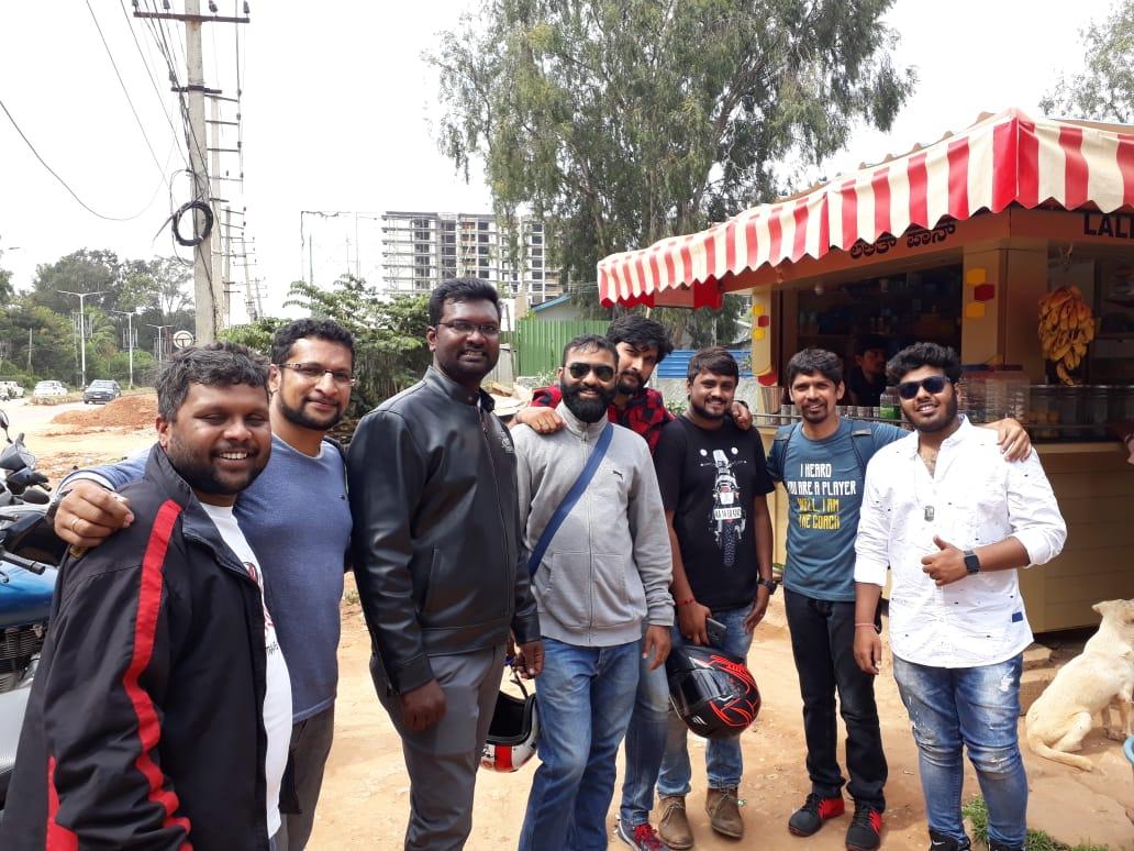 Road Thrill Bikers Members Bangalore and Vizag at Big Brewsky Hennur