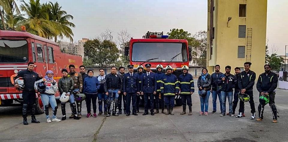Road Thrill Mumbai celebrates this Republic Day Ride with Fire Fighters