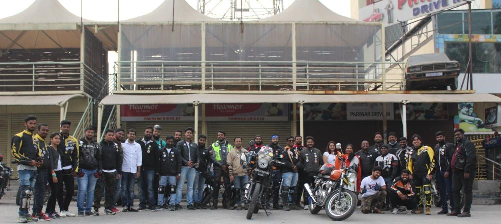 Road Thrill Hyderabad celebrates Jan 26th as well as the 2nd Anniversary