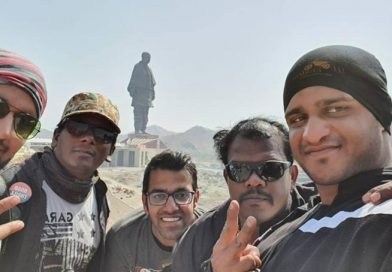 Statue of Unity Gujarat Road Thrill Community Ride RT Pune Manoj Sinkar