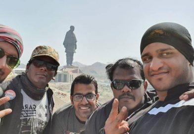 Statue of Unity Gujarat Road Thrill Community Ride RT Pune Manoj Sinkar