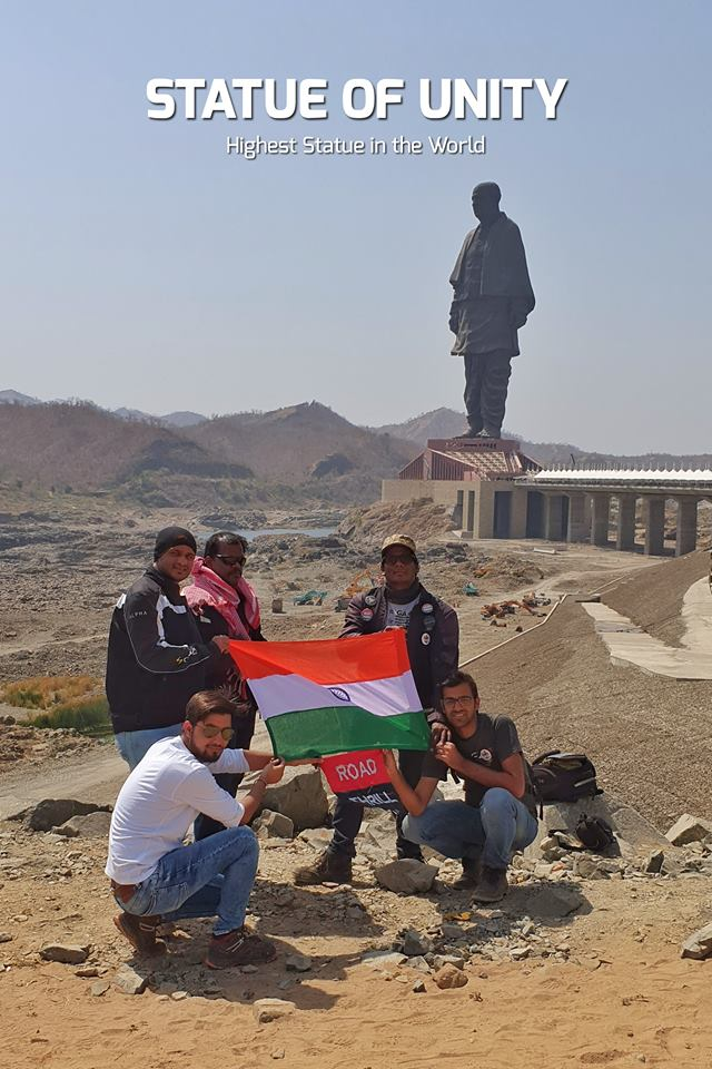 Statue of Unity Gujarat Team Road Thrill