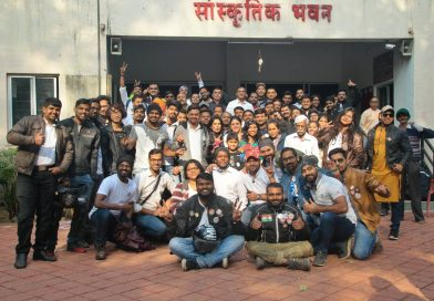 Road Thrill Pune celebrates Republic Day 2019 with Elderly People