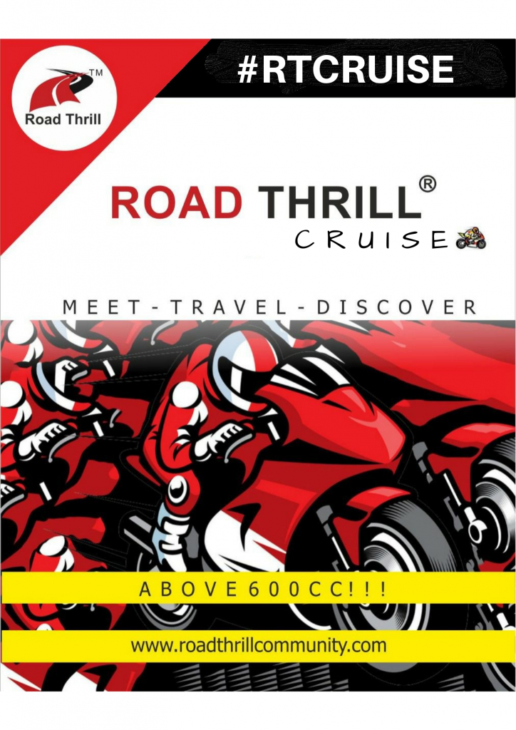 Road Thrill Cruise Super BIkes 600 CC India Clubs