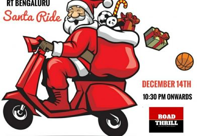 Road Thrill Bangalore Santa Ride